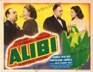 Lobby Card From Alibi