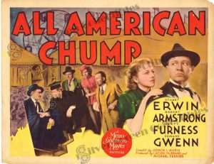 Lobby Card From All American Chump