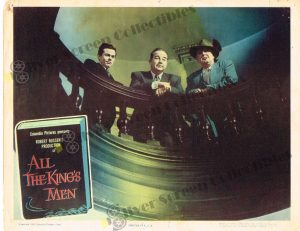 Lobby Card from All the King's Men