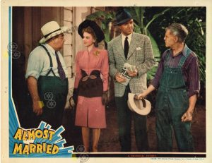 Lobby Card From Almost Married