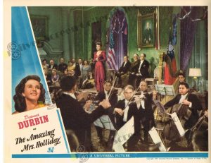 Lobby Card From The Amazing Mrs. Holliday