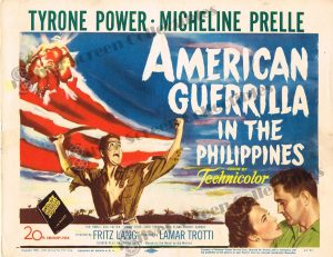 Lobby Card From American Guerrilla in the Philippines