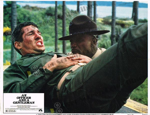 Lobby Card from An Officer and a Gentleman