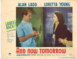 Lobby Card from And Now Tomorrow