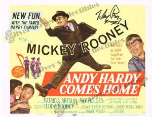 Lobby Card from Andy Hardy Comes Home
