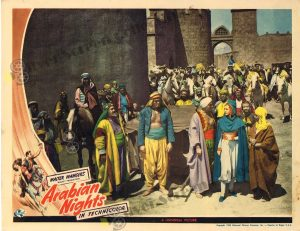 Lobby Card From Arabian Nights