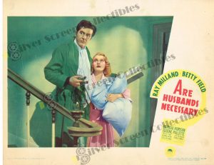 Lobby Card From Are Husbands Necessary