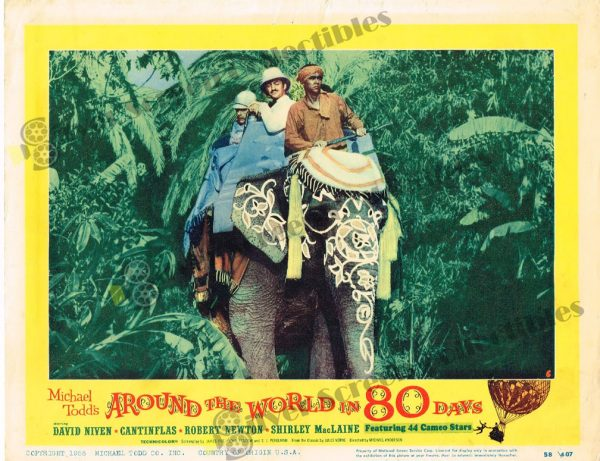 Lobby Card from Around the World in 80 Days