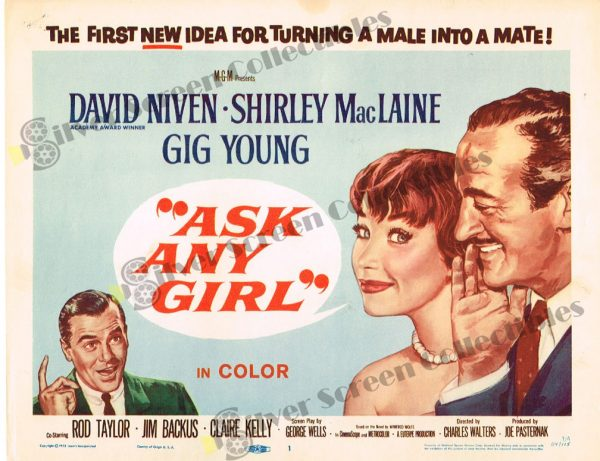 Lobby Card From Ask Any Girl