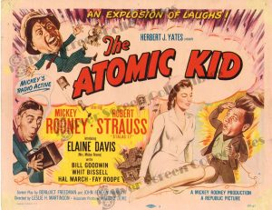 Lobby Card From The Atomic Kid