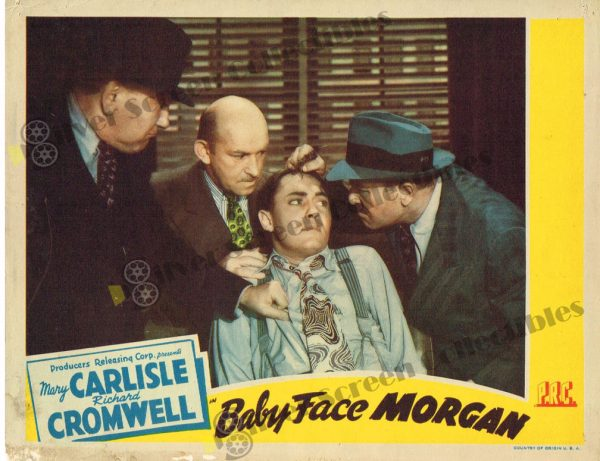 Lobby Card From Baby Face Morgan