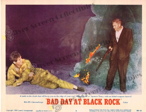 Lobby Card From Bad Day at Black Rock