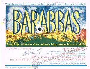 Lobby Card from Barabbas