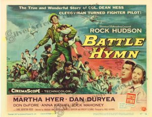 Lobby Card From Battle Hymn