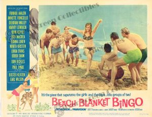 Lobby Card From Beach Blanket Bingo