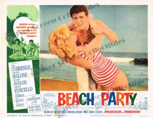 Lobby Card From Beach Party