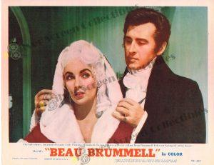 Lobby Card from Beau Brummell