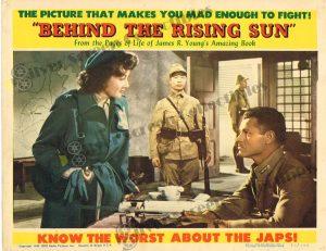 Lobby Card From Behind the Rising Sun