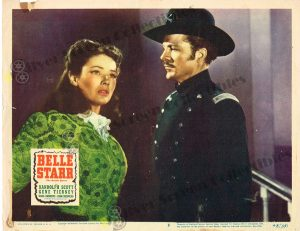 Lobby Card From Belle Starr
