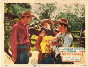 Lobby Card From Belle Starr's Daughter