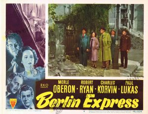 Lobby Card From Berlin Express