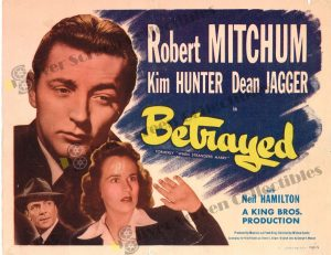 Lobby Card from Betrayed