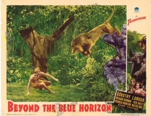 Lobby Card from Beyond the Blue Horizon
