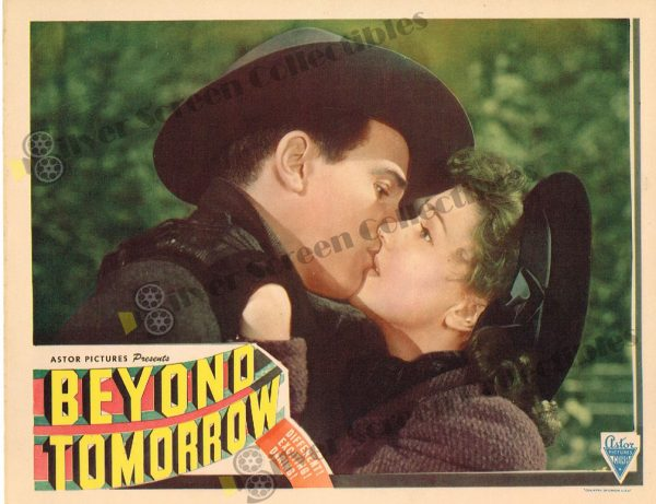 Lobby Card from Beyond Tomorrow