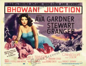 Lobby Card from Bhowani Junction