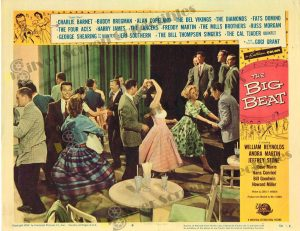Lobby Card From The Big Beat