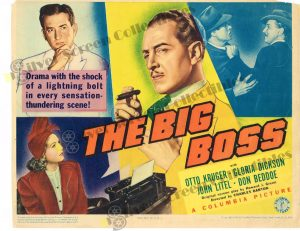 Lobby Card From The Big Boss