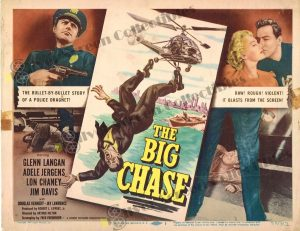Lobby Card From The Big Chase