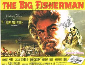 Lobby Card fromThe Big Fisherman