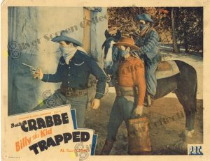 Lobby Card From Billy the Kid Trapped