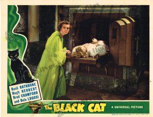 Lobby Card fromThe Black Cat