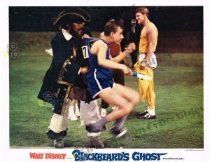 Lobby Card from Blackbeard's Ghost