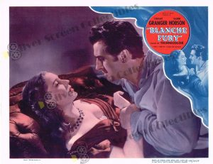 Lobby Card From Blanche Fury