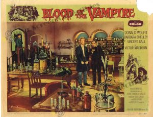 Lobby Card from Blood of the Vampire