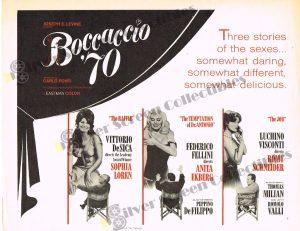 Lobby Card From Boccaccio '70
