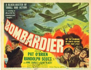 Lobby Card From Bombardier