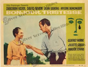 Lobby Card from Bonjour Tristesse