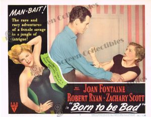 Lobby Card From Born to be Bad