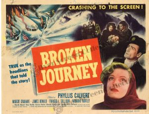 Lobby Card From Broken Journey
