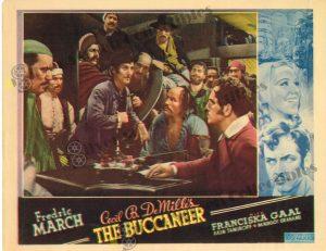 Lobby Card fromThe Buccaneer