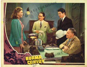 Lobby Card From Burma Convoy
