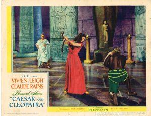 Lobby Card from Caesar and Cleopatra