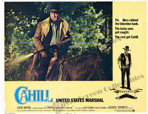 Lobby Card From Cahill (United States Marshal)