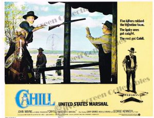 Lobby Card From Cahill (United States Marshall)
