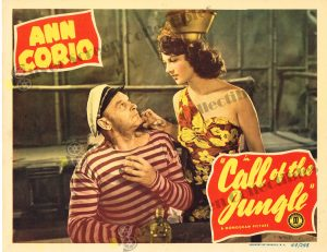 Lobby Card from Call of the Jungle