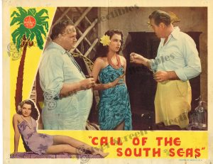Lobby Card from Call of the South Seas